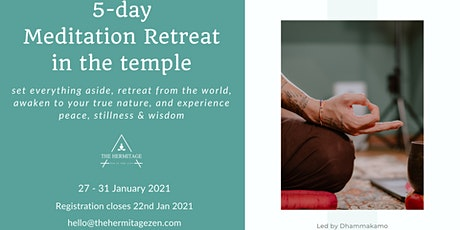 Temple Meditation Retreat 2021 tickets