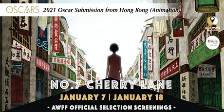 AWFF - No.7 Cherry Lane (1/18) -2021 Oscar Submission from Hong Kong tickets