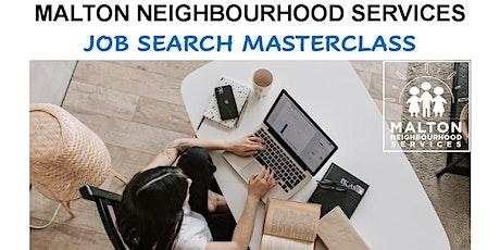 Employment Webinar: Job-search Masterclass tickets