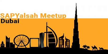 SAP Yalsah Online, 30th January, 2021: SAP Community Online Meetup tickets