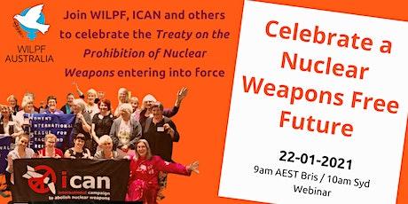WILPF Australia Webinar to Celebrate a Nuclear Weapons-Free Future tickets