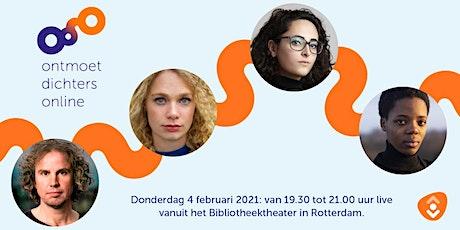 Ontmoet Dichters Online tickets