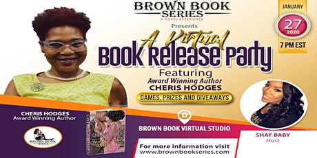 Brown Book Series Presents: A Virtual Book Release Party w/Cheris Hodges tickets