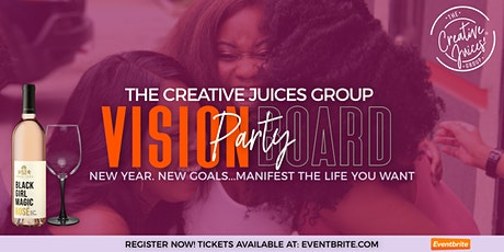 The Creative Juices Group Vision Board Party tickets