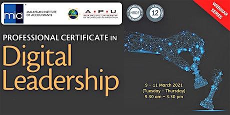 3rd Professional Certificate in Digital Leadership tickets