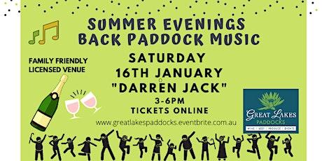 Summer Evenings 2020  - Darren Jack tickets