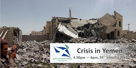 Crisis in Yemen tickets