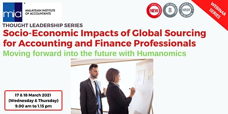 Socio-Economic Impacts of Global Sourcing for Accounting & Finance Prof tickets