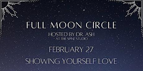 Full Moon Circle - February tickets