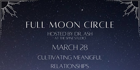 Full Moon Circle - March tickets