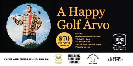 Power House Junior Rugby - Happy Golf Arvo tickets