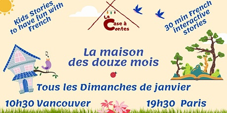 La Case à Contes - S'amuser avec le Français via un conte - En ligne billets