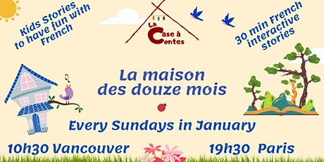 Case à Contes - Have fun in French with Interactive Storytelling - Online tickets