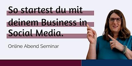 So startest du mit deinem Business in Social Media Tickets