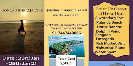 Suvarndurg-Goagadh-Dapoli Historic & Adventures Gateway with Oonaad Bhraman tickets