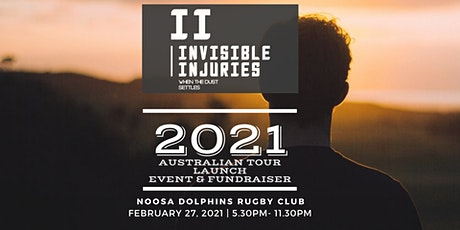 Invisble Injuries -2021 tour launch fundraiser tickets