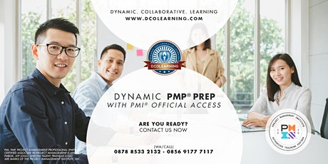 Dynamic PMP® Exam Preparation with Official PMI® LMS Access (NEW) tickets