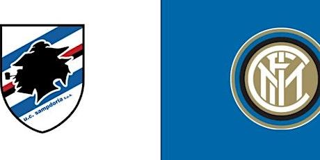 SerieA@!.Sampdoria - Inter in. Dirett Live 06 Gennaio 2021 biglietti