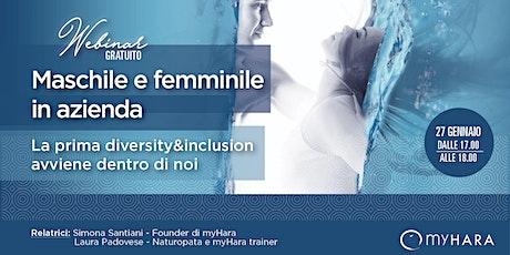 WEBINAR GRATUITO: Maschile e Femminile in azienda biglietti