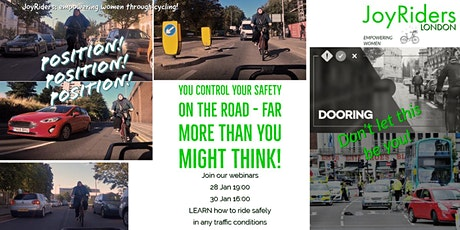 Position, Position, Position - Riding Safely is MOSTLY about road position tickets