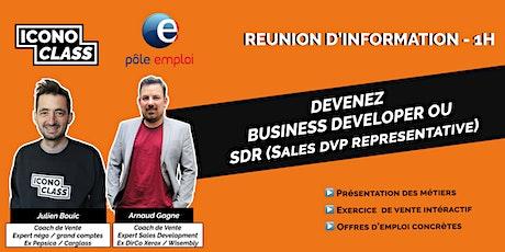 Présentation métier: Devenez SDR  / Business Developer tickets