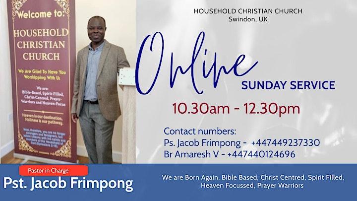 ONLINE Sunday Worship Service image