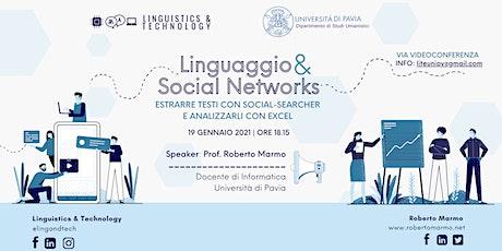 Linguaggio & Social Networks - WORKSHOP biglietti
