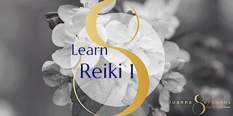 Learn Reiki 1 tickets