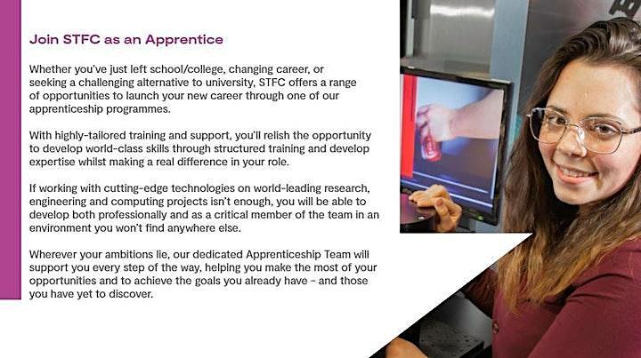 STFC RAL Virtual Apprenticeship Open Evening 2021 image