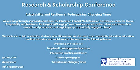 Research and Scholarship Conference tickets