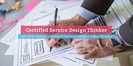 Certified Service Design Thinker – Hamburg Tickets