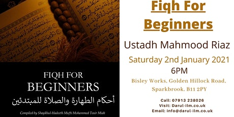 Fiqh for Beginners tickets