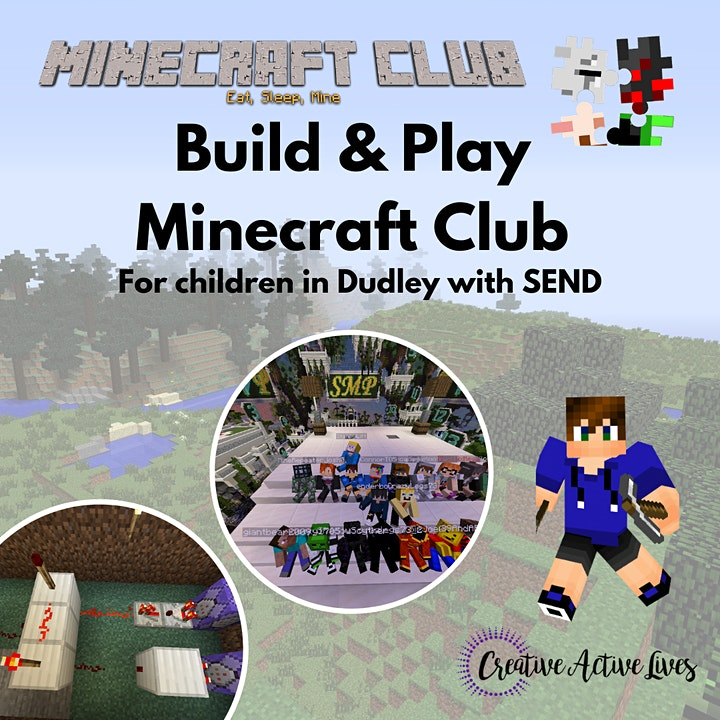 Minecraft SEN Sessions:  Build Learn & Play with Club Minecraft image