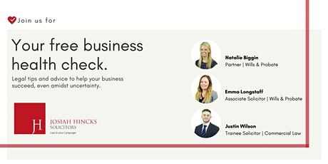 Your Business Health Check tickets