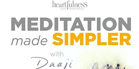 Experience Heartfulness: Meditation made simpler tickets