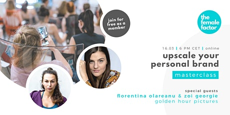 upscale your personal brand | the female factor masterclass Tickets