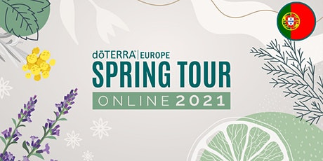 dōTERRA Spring Tour Online 2021 - Portugal ingressos