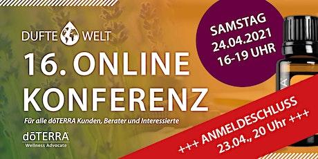 Sechzehnte Dufte Welt Online Konferenz Tickets