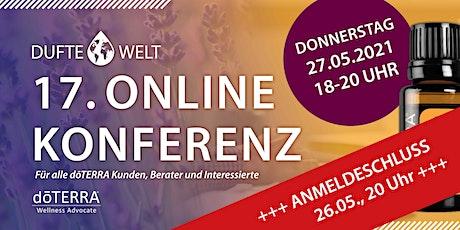 Siebzehnte Dufte Welt Online Konferenz tickets