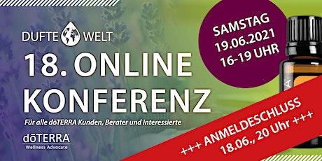 Achtzehnte Dufte Welt Online Konferenz tickets