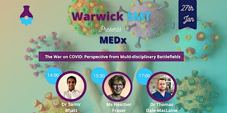 The War on COVID: Perspectives from Multi-disciplinary Battlefields tickets