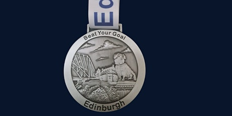 Virtual Running Event - Run 5K, 10K, 21K - Edinburgh Medal tickets