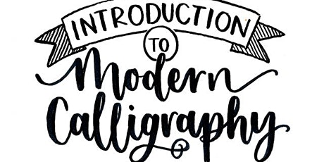 INTRODUCTION TO MODERN CALLIGRAPHY tickets