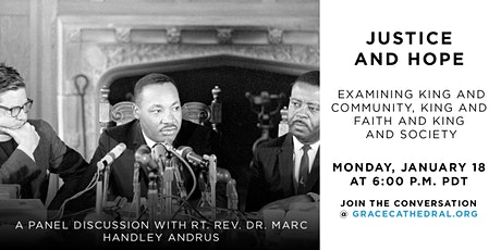 King & Faith Forum: Justice and Hope tickets
