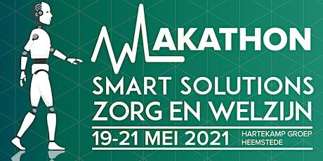 Makathon Smart Solutions voor Zorg en Welzijn editie 2021! tickets