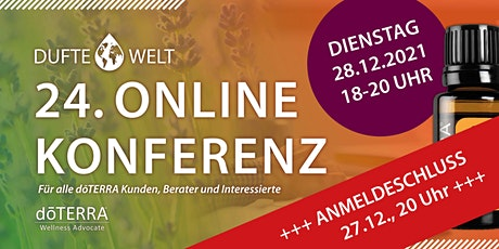 Vierundzwanzigste Dufte Welt Online Konferenz Tickets