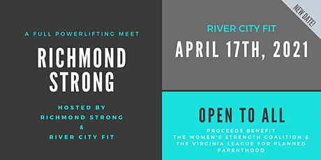 Richmond Strong: A full powerlifting meet open to all! tickets