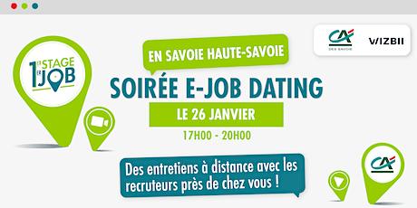 E-Job Dating Savoie & Haute-Savoie : décrochez un emploi dans votre région billets