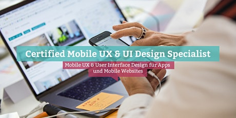 Certified Mobile UX & UI Design Specialist, Berlin Tickets