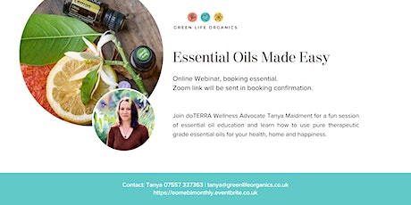 Essential Oils  Made Easy Weekly tickets